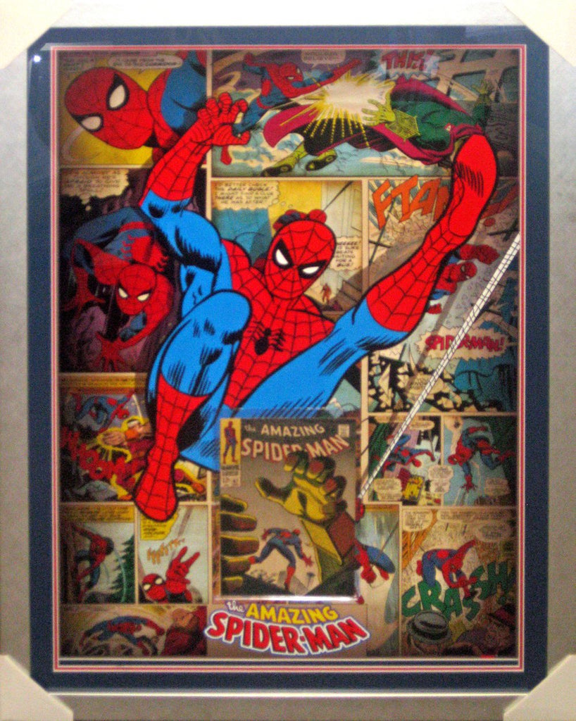 Spiderman Comic Case feat a silver age Comic Book