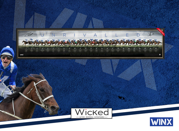 Winx Dual Signed 'Unrivalled' Framed