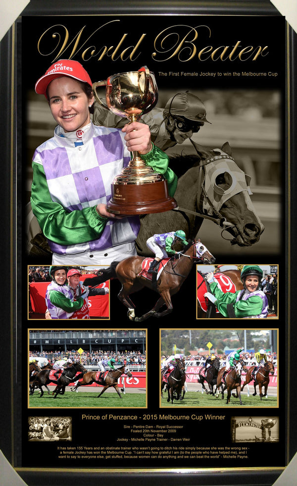 MICHELLE PAYNE - PRINCE OF PENZANCE - 2015 MELBOURNE CUP CHAMPION