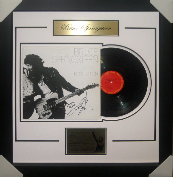 BRUCE SPRINGSTEEN SIGNED & FRAMED VINYL ALBUM - Authenticated by Roger Epperson