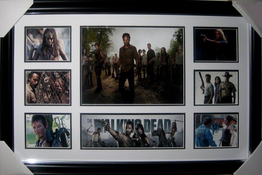The Walking Dead - Framed Collage