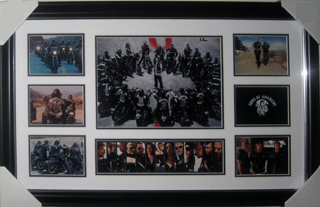 Sons of Anarchy - Framed Collage