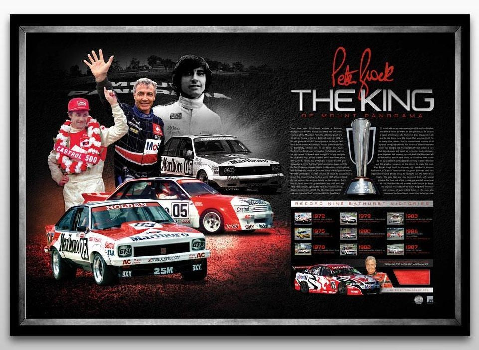 Peter Brock - The King - Limited Edition of 161 Units Only