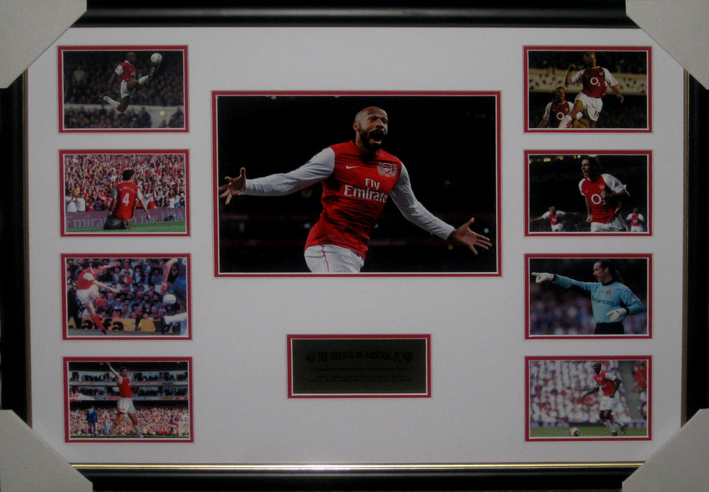 The Greats of Arsenal Gunners Football Club - Framed Collage