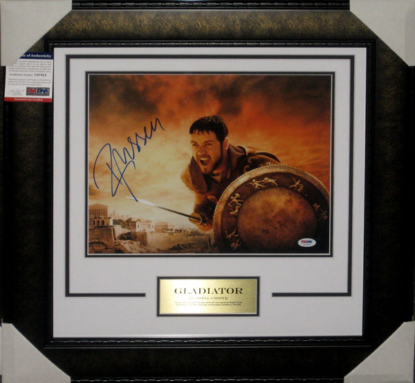 GLADIATOR - RUSSELL CROWE HAND SIGNED PSA DNA AUTHENTICATED U47853