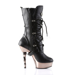 Demonia Muerto-1026, 5-inch Calf High Boot - Pleaser Shoes