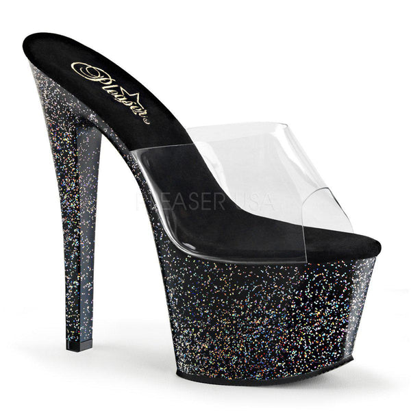 Pleaser Sky-301MG, 7-inch Glitter Stripper High Heels - Pleaser Shoes