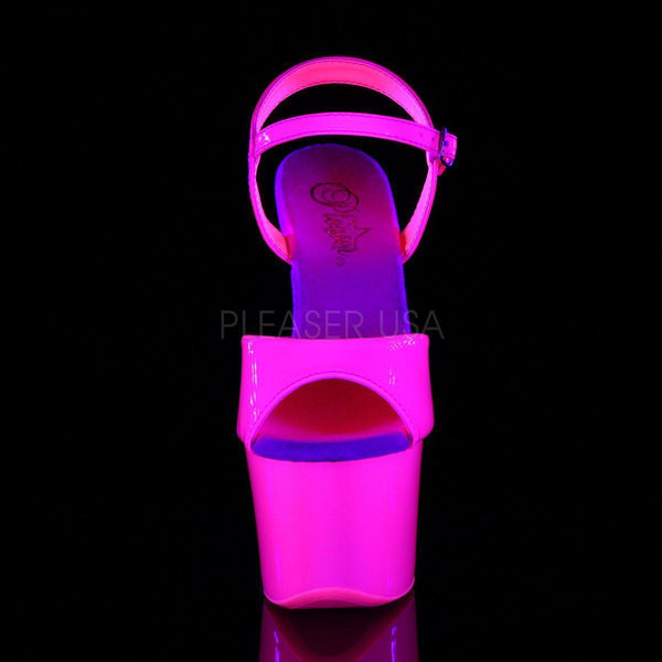 Pleaser Sky-309UV, Neon UV Reactive Pole Dance Heels - Pleaser Shoes