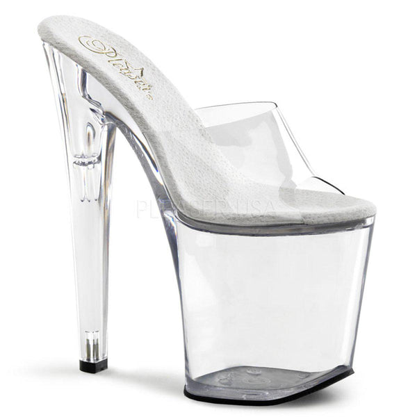 Pleaser Xtreme-801, Extreme High Stripper Heels - Pleaser Shoes