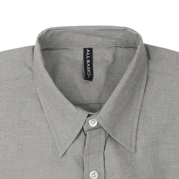 Oxford Long Sleeve Shirt - Grey