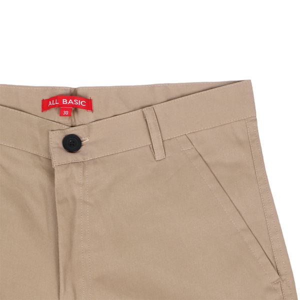 SHORT CARGO PANTS - KHAKI