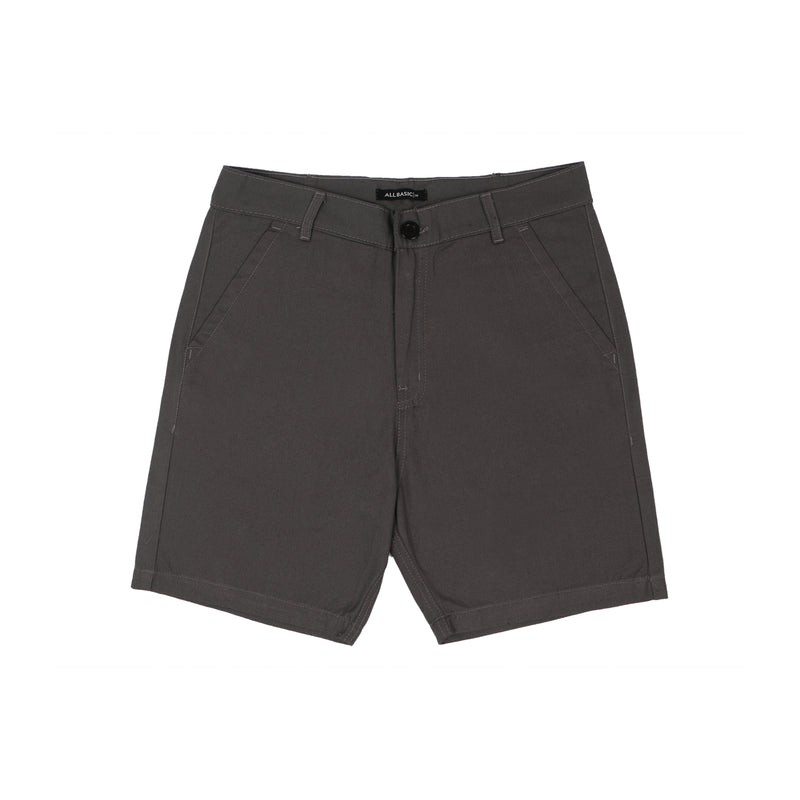 SHORT CHINOS PANTS - DARK GREY
