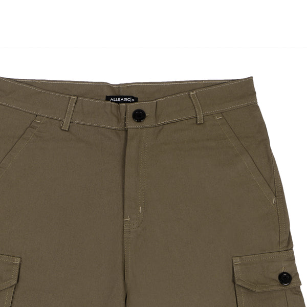 SHORT CARGO PANTS - GREEN ARMY