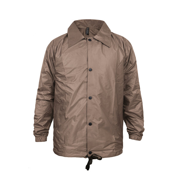 COACHES JACKET - BROWN