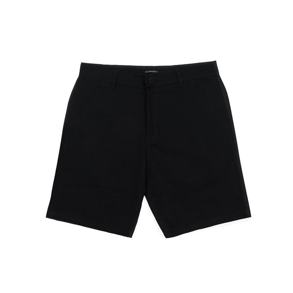 SHORT CHINOS PANTS - BLACK