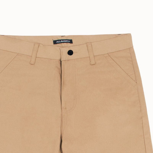 SHORT CHINOS PANTS - KHAKI