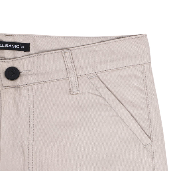 SHORT CHINOS PANTS - CREAM