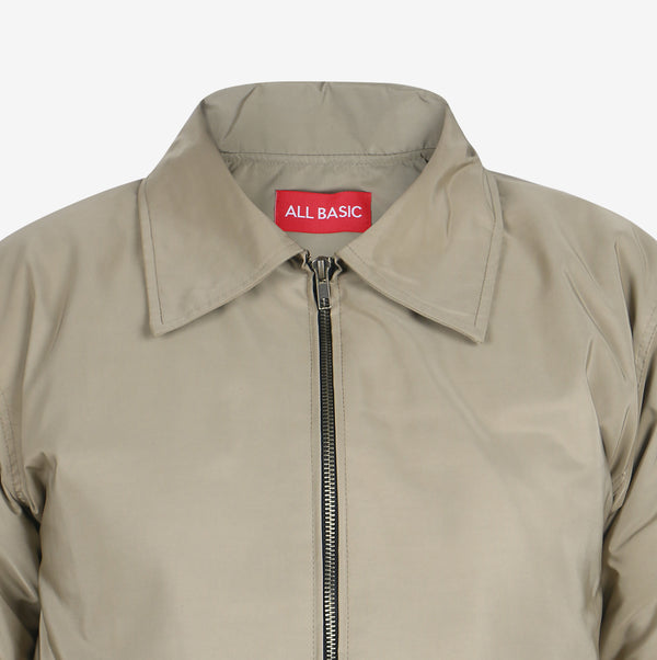 FLIGHT JACKET - KHAKI