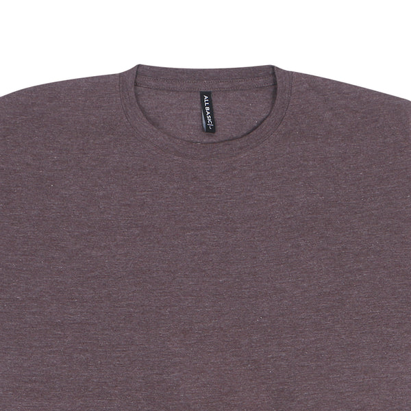 CREWNECK TEES - BROWN