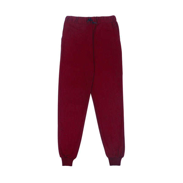 SWEATPANTS - MAROON