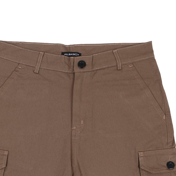 SHORT CARGO PANTS - BROWN