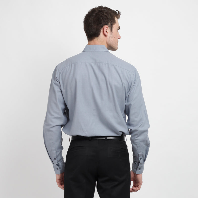 Ramy Long Sleeve Shirt - Navy