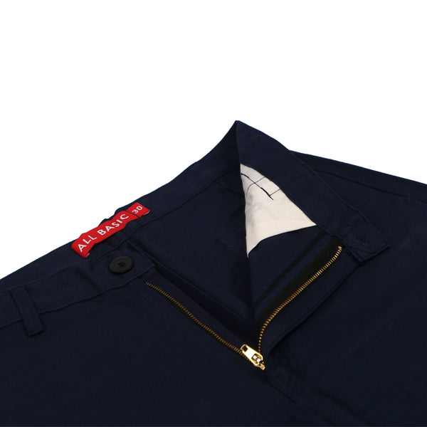 SHORT CARGO PANTS - NAVY BLUE
