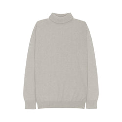 WOMEN KNIT TURTLENECK - KHAKI