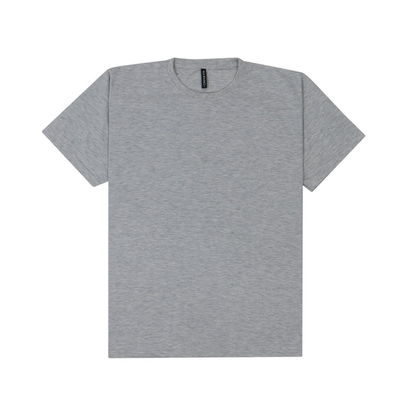 CREWNECK TEES - GREY