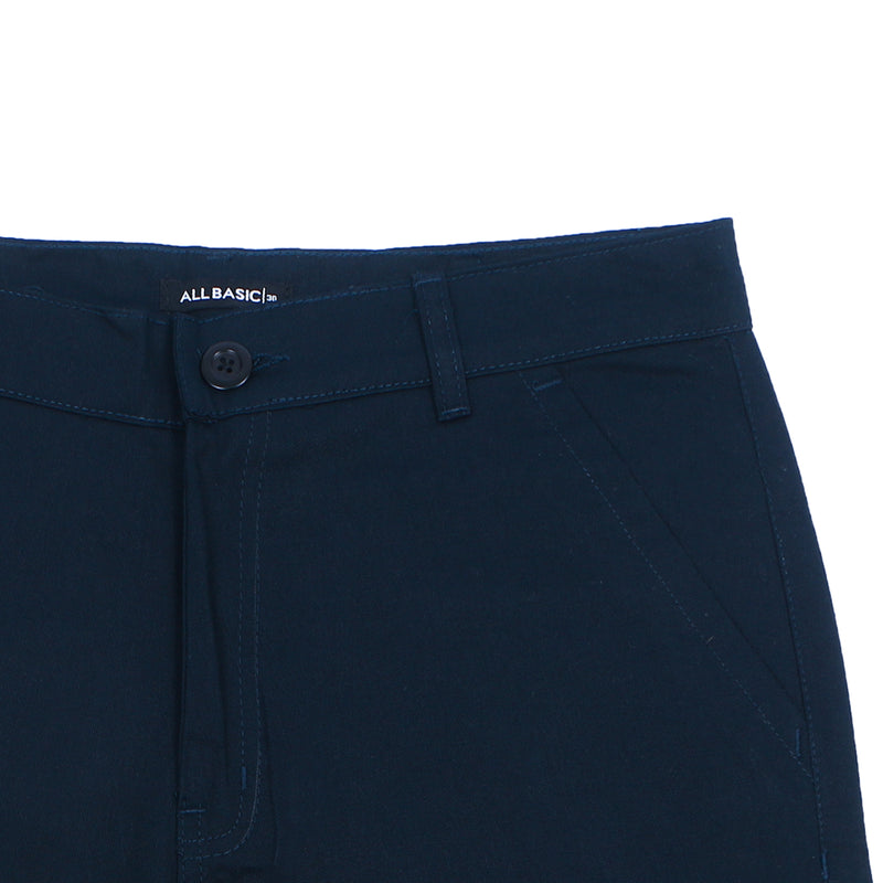 LONG CHINOS PANTS - NAVY BLUE