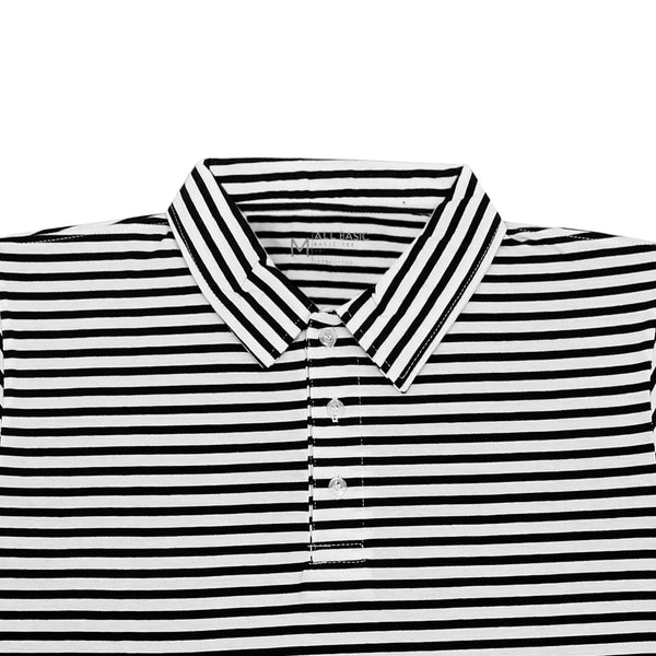 Polo Striped Shirt - Black