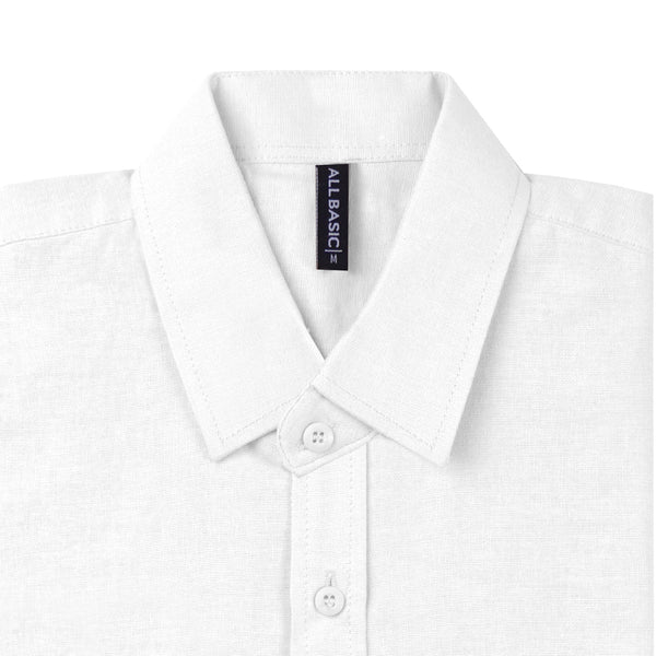 Ramy Short Sleeve Shirt - White