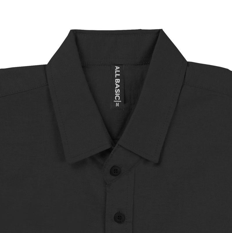 Ramy Long Sleeve Shirt - Black