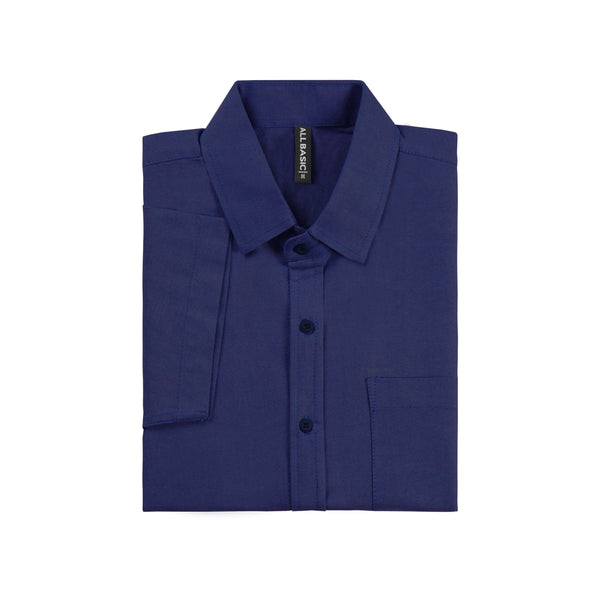Ramy Short Sleeve Shirt - Navy