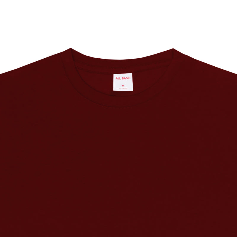 Cotton Bamboo Tees - Red