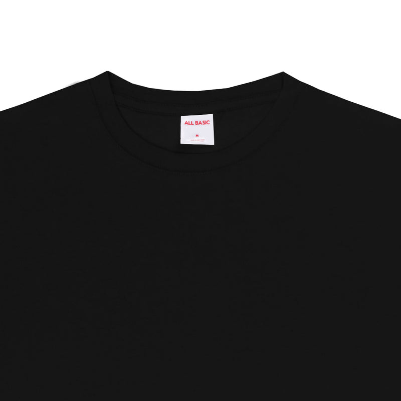 Cotton Bamboo Tees - Black