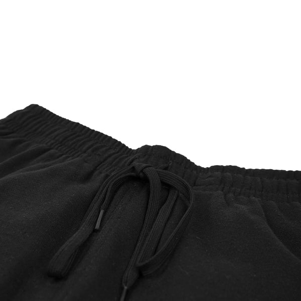 SHORT SWEATPANTS - BLACK