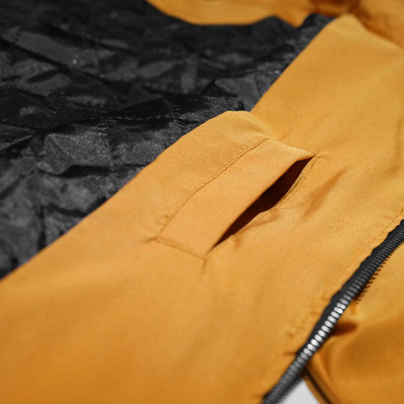 FLIGHT JACKET - MUSTARD