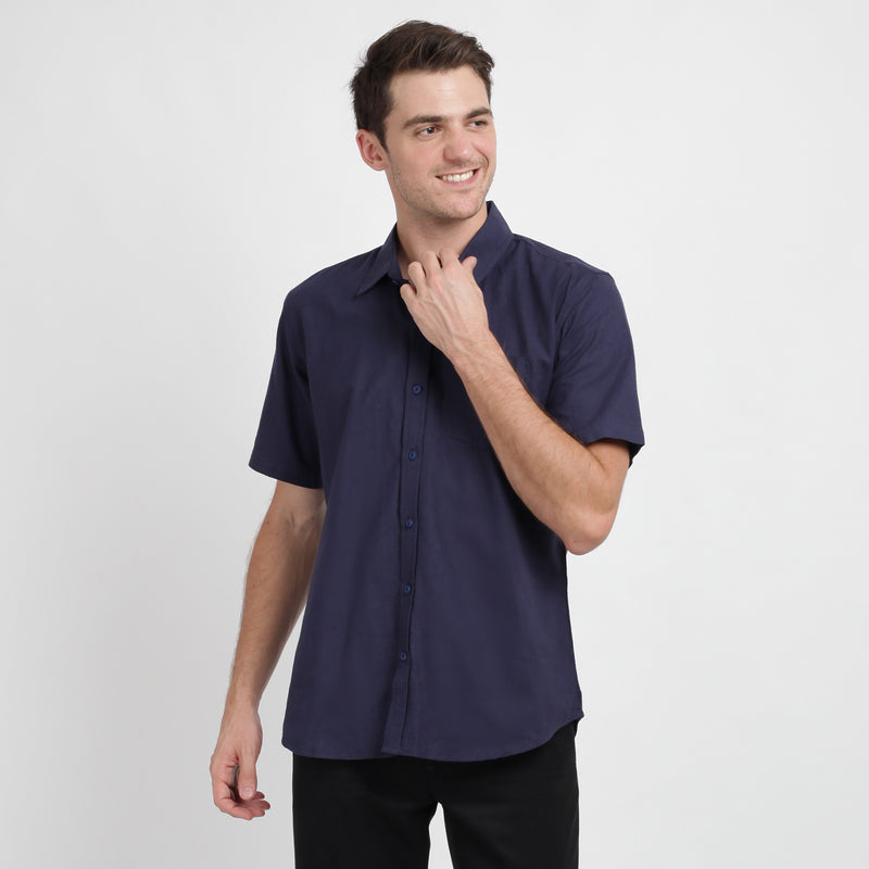 Ramy Short Sleeve Shirt - Khaki