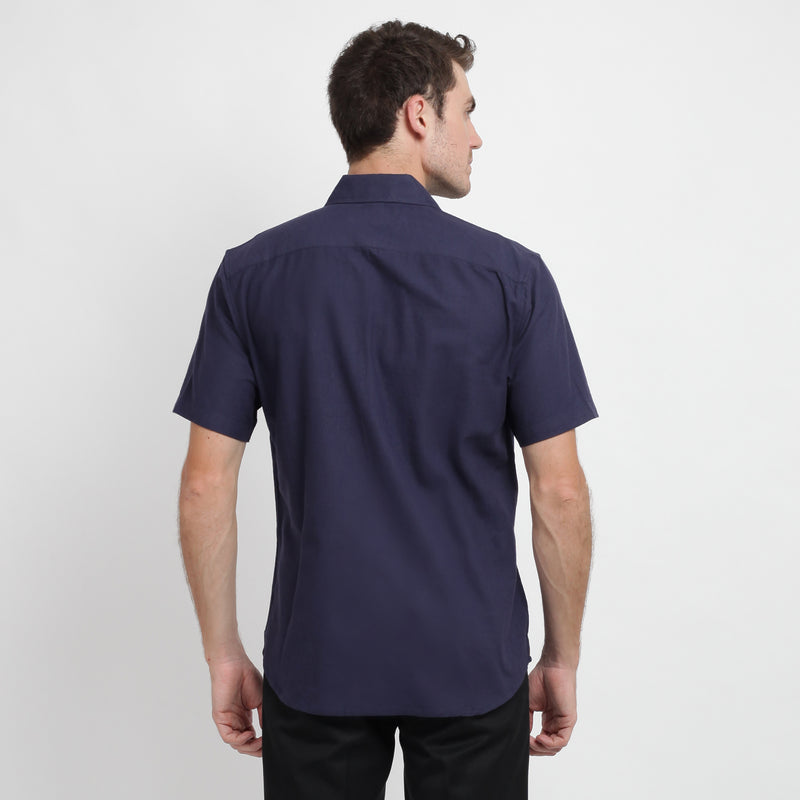 Ramy Short Sleeve Shirt - Grey