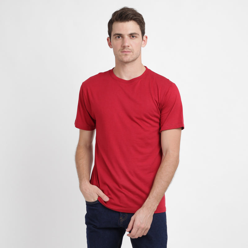 Cotton Bamboo Tees - Navy