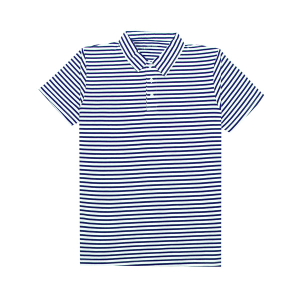 Polo Striped Shirt - Navy