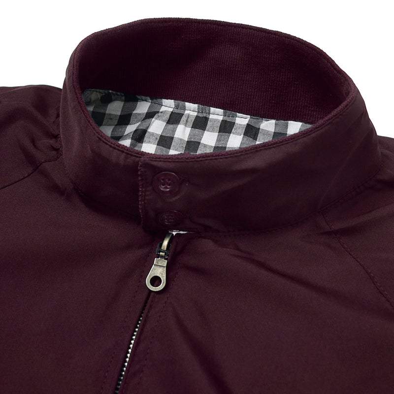 Harrington Jacket - Maroon