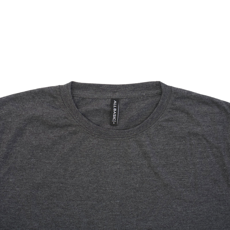 CREWNECK TEES - BLACK