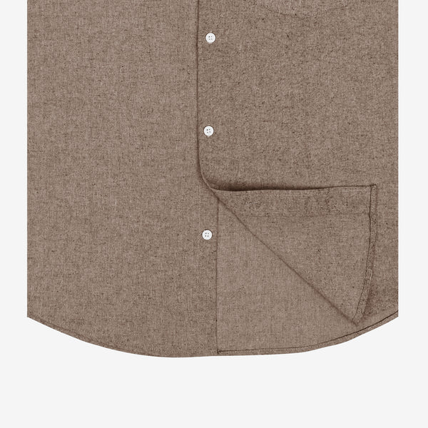 Toyobo Short Sleeve Shirt - Brown