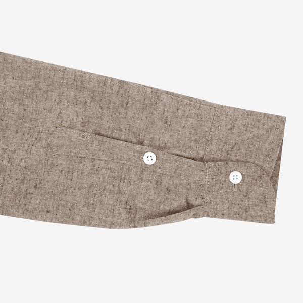Toyobo Long Sleeve Shirt - Brown