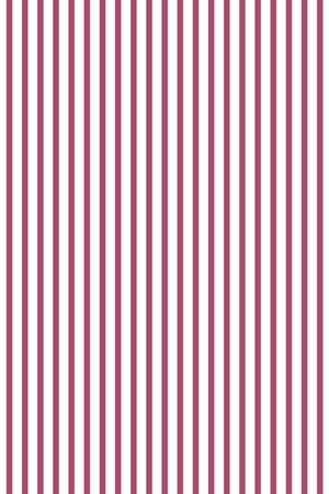 Double Quarter Inch Stripe Cotton Fabric - Deep Pink