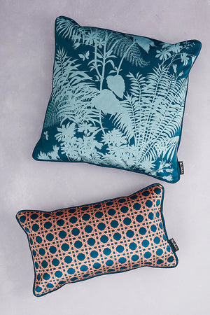 SAMPLE SALE - BUNDLE - Duet of Velvet Cushions - Forest Green (25% Saving - Price is for 2 cushions)
