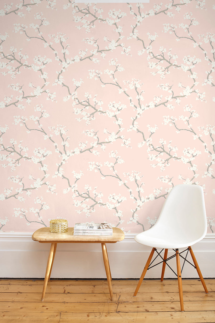Branches Wallpaper - Blush