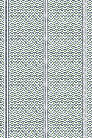 Japanese Panels Wallpaper - Green